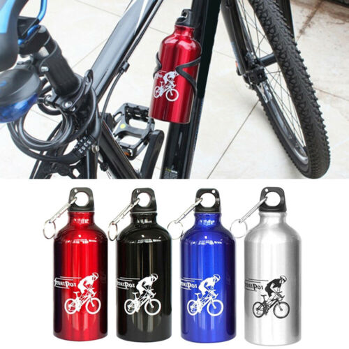 500ml Outdoor Sports Cycling Portable Aluminium Alloy Drink Water Bottle Cup