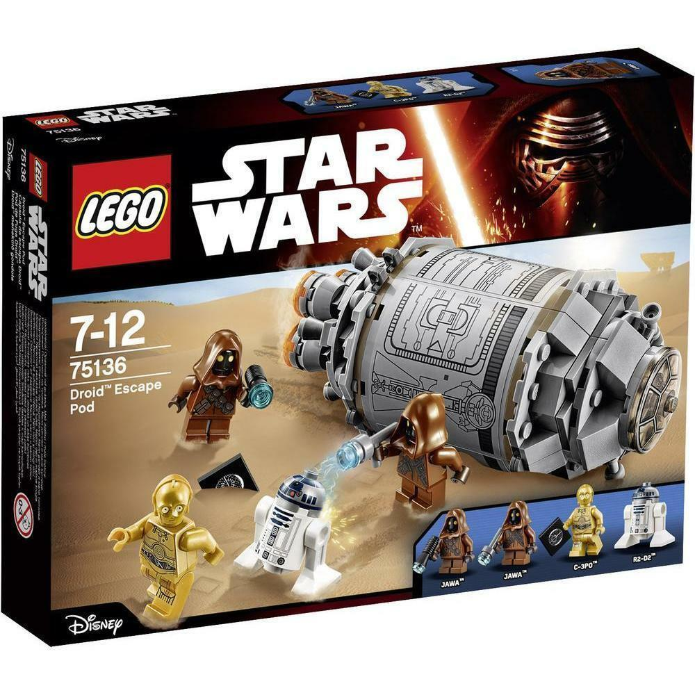LEGO STAR WARS - Droid Escape Pod 75136 - New & Sealed