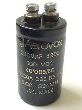 3300UF 100V BHC AEROVOX ALS30A332DB100 HIGH RIPPLE INDUSTRIAL CAPACITOR  blb18