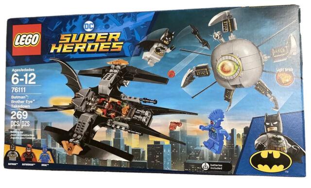 Lego 76111 DC Comics Super Heroes Batman Brother Eye Capture Neuf neuf dans sa boîte