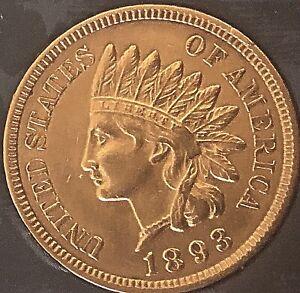 1893-INDIAN-HEAD-PENNY-4-DIAMONDS-NICE-PENNY-Cleaned