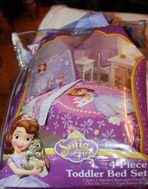 Buy Disney Princess Sofia The First 4 Piece Toddler Bedding Set