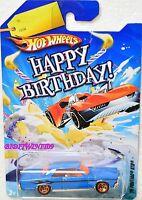 Hot Wheels Happy Birthday 2010 '65 Pontiac Gto W+