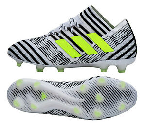 first rate 4055f de0a8 Image is loading Adidas-NEMEZIZ-17-1-FG-BB6075-Soccer-Football-