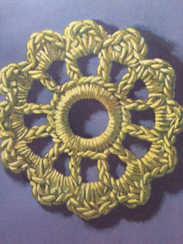 Estera Principiantes Easy Crochet Patrón De Ganchillo