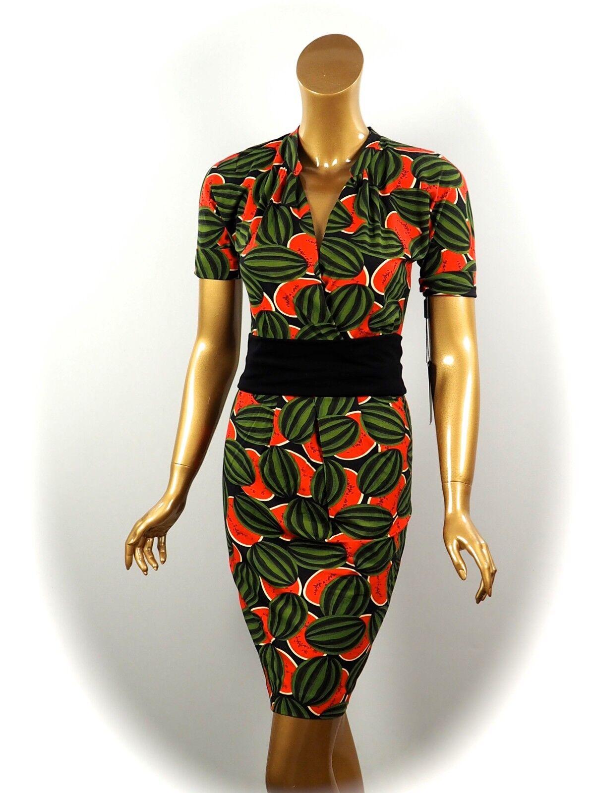 MARCCAIN ADDITIONS  KLEID mit Scherpe  DRESS Gr. N1 34 N3 38 N4 40 N5 42 N6 44