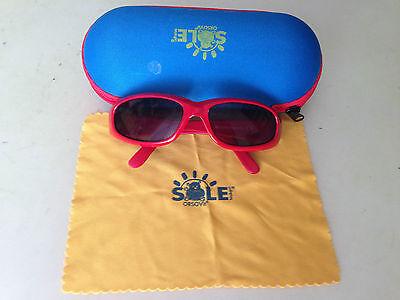 Acquista A Buon Mercato Occhialini Da Sole Per Bambini Orsovit Di Colore Rosso Con Custodia E Fazzoletto