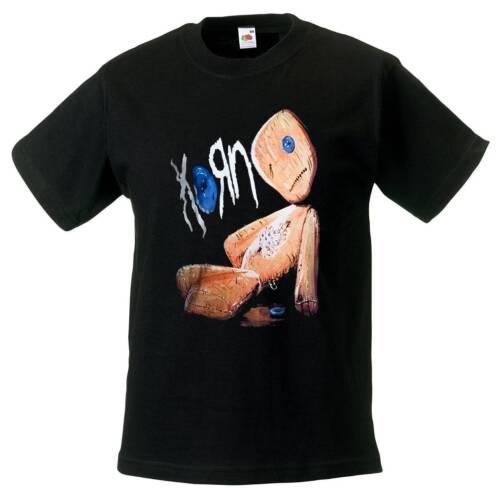 KORN BAND t-shirt BLACK shirt kid clothing toddler shirt children size:3-11 year