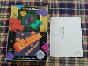 Blockout - Authentic - Sega Genesis - Case / Box Only!
