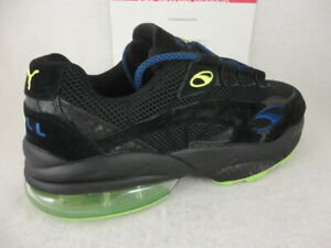 Details about Puma Cell Venom NV, Suede, Puma Black / Neon Blue, 370418 01,  Size 13