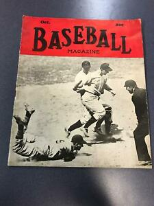 October 1943 BASEBALL MAGAZINE Babe Ruth Ted Williams Stan Musial Inside * PL1