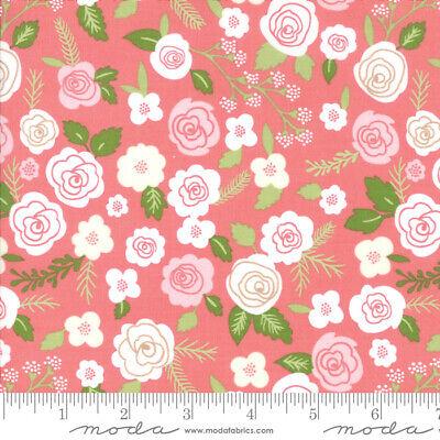 Moda LOLLIPOP GARDEN 5080 12 Pink Floral LELLA BOUTIQUE Quilt Fabric