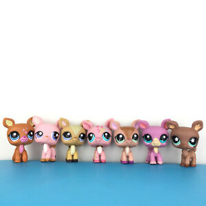 Lot 7 Littlest Petshop 1759 1414 1123 1356 670 Lps Fauveries Set / Faon Biche