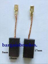 CARBON BRUSHES 4 BOSCH 604320912 1607014151 1607014172 B 9250 GWS 900 GW1000 D47