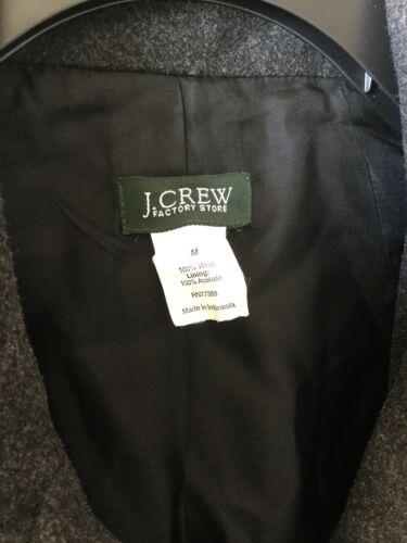 Grey uld Charcoal M Peacoat Crew J Medium Blended Lined Women's Coat nxwqXYRC