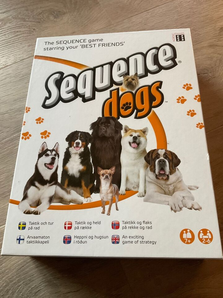 Sequence dogs, brætspil