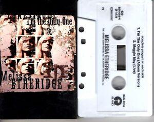 Melissa Etheridge I'm The Only One 1994 Cassette Tape Single Pop Dance Rock