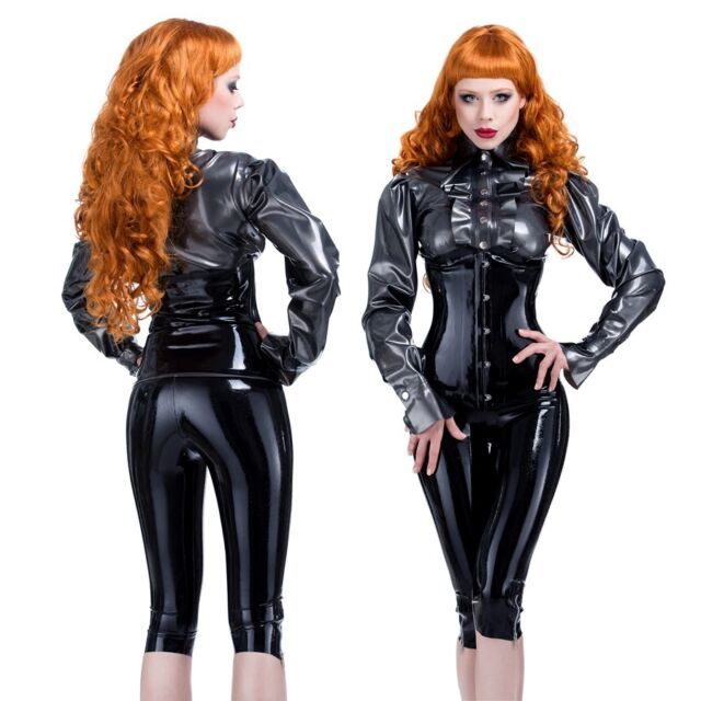 R1650 Latex PIN UP CORSET CLINCHER *Red or Black* Last Few SECONDS RRP £90.00