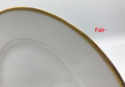 s Gold Antique CA Ahrenfeldt Bailey Banks Biddle Limoges Dinner Plate
