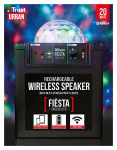 Trust-21731-Ur-Fiesta-Discoteca-Fiesta-Lite-20-W-sistema-de-parlantes-Bluetooth-Recargable
