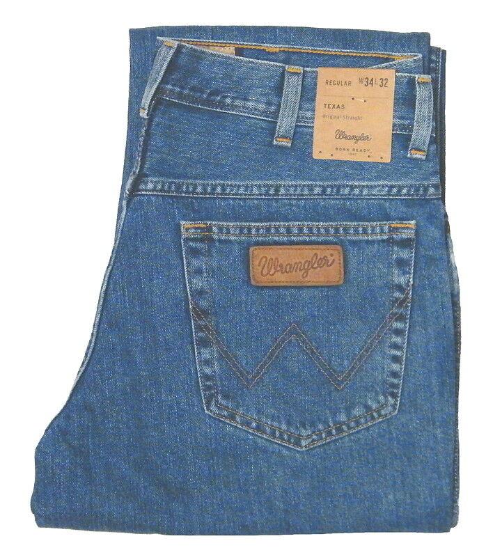 WRANGLER ® TEXAS Jeans  W 31 L 32 JEANSblue 100% Baumwolle W12105096 1.WAHL NEU
