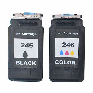 Image Is Loading PG245XL CL246XL Black Color Ink Set For Canon