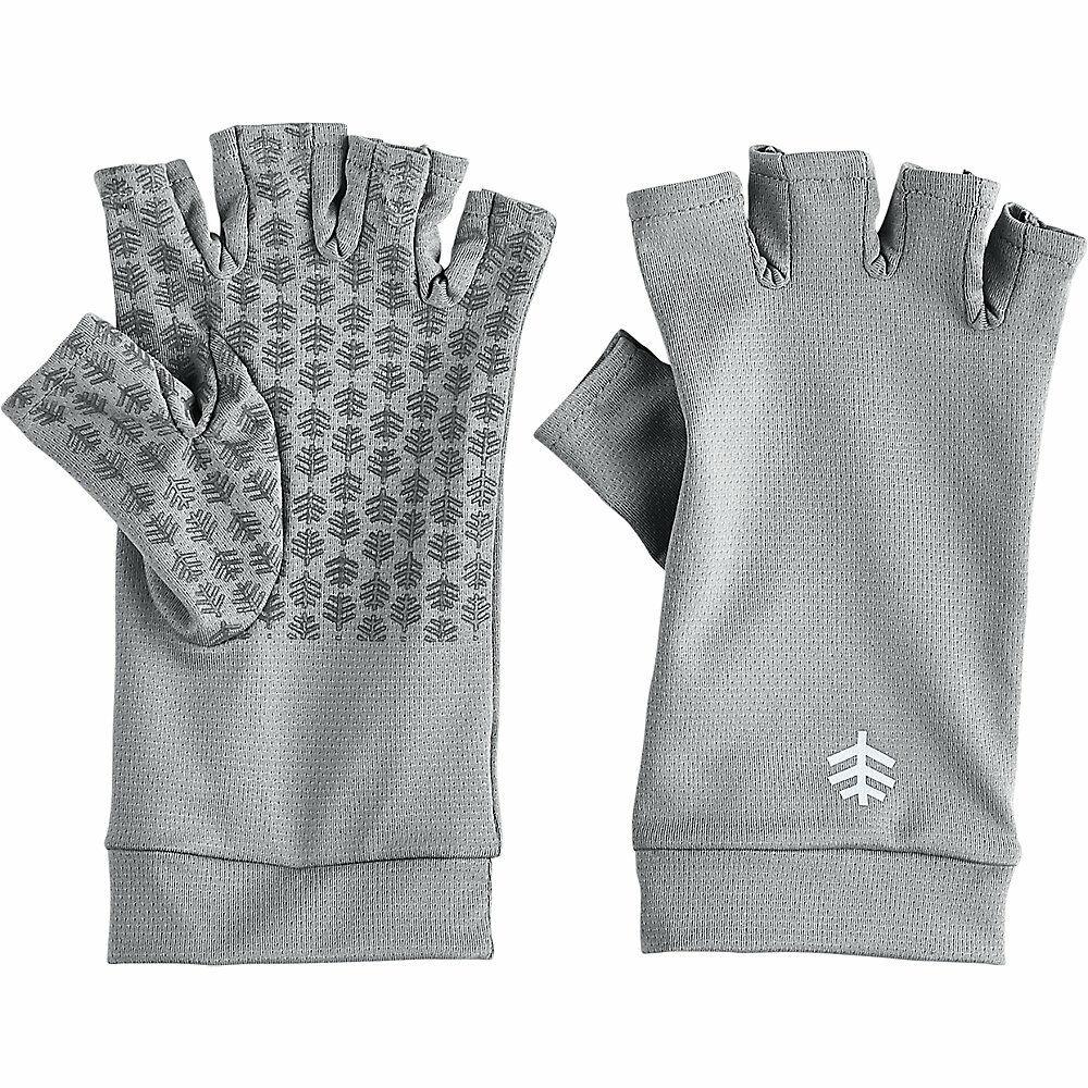 Chlorine Resistance Black UV Gloves Sun Protection Cover UPF50