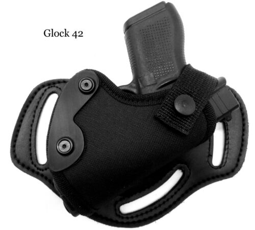 or Side//Hip Belt Holster RUGER LCP 380 II CEBECI Nylon RH Small of Back SOB