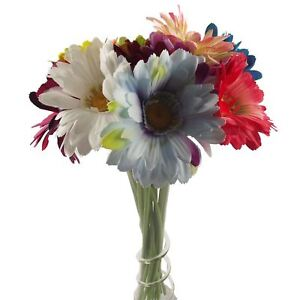 Single xl soft touch gerbera artificial flowers stem ebay image is loading single xl soft touch gerbera artificial flowers stem mightylinksfo