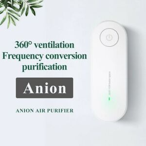 PM2.5 Negative ion Mini Formaldehyde And Cigarette Smoke Removal Air Purifier UK