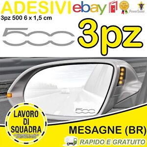 KIT-3-ADESIVI-FIAT-500-SPECCHIETTO-INTERNO-500x-500L-500C-500E-500S-ARGENTO