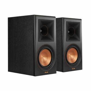 Klipsch RP-600m Bookshelf Speakers (Pair) B Stock Ebony