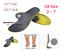 Diabetic-Medical-Arch-Support-Extra-Thick-Insoles-Running-Working-Boots-Shoes thumbnail 13