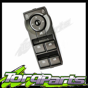 WINDOW-SWITCH-SUIT-HOLDEN-COMMODORE-VE-GREEN-ILLM-ELECTRIC-POWER-DOOR-BUTTON
