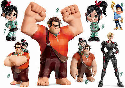 WRECK IT RALPH GLITCH IRON ON T-SHIRT FABRIC TRANSFER OR STICKERS WALL DECO