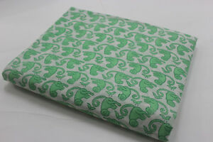 10-Yard-Cotton-Voile-Hand-Block-monkey-Print-Fabric-soft-cotton-fabric