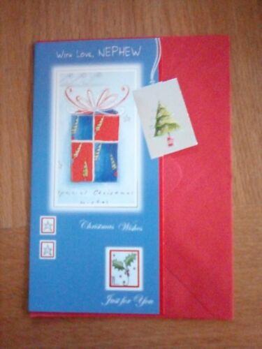 Christmas Card Nephew