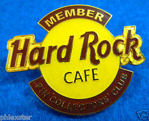 Hrcpcc-Pin-Coleccionistas-Grupo-Naranja-2ND-Ano-Premio-Logo-Hard-Rock-Cafe-La