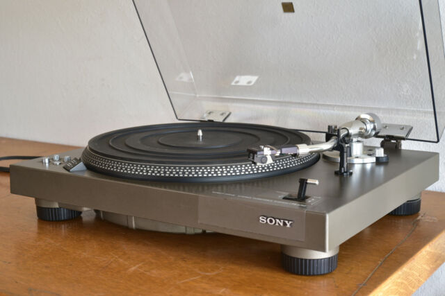 Sony PS-3750 Direct Drive Manual Turntable w/ AT Precept DMM Cartridge RARE -
