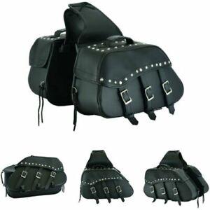 Moto-Cuero-Silla-Bolsa-Sissy-MOTO-silla-bolsa-de-maletas-laterales-Caja-de-herramientas