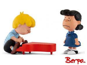 Schleich-22055-Peanuts-Scenery-Pack-Set-Lucy-amp-Schroeder-am-Klavier-NEU-OVP
