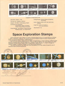 9154-29c-Space-Exploration-Stamps-2577a-USPS-Souvenir-Page