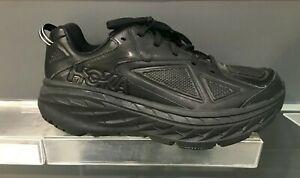 hoka leather shoes