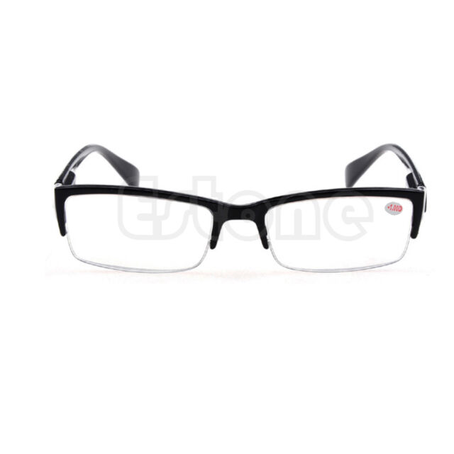 New Semi-rimless Eyeglass Myopia Glasses Black Frames -1 -1.5 -2 -2.5 -3 -3.5 -4