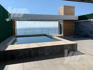 Penthouse en Venta en Emerald Residential Tower, 4 Recamaras, Zona Hotelera, Cancún, Q. Roo, Clav...