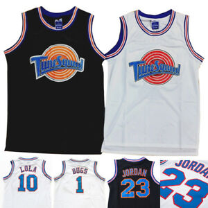 0da69ca49c7 UK Mens Space Jam Tune Squad Basketball Jerseys Students Sports Vest ...