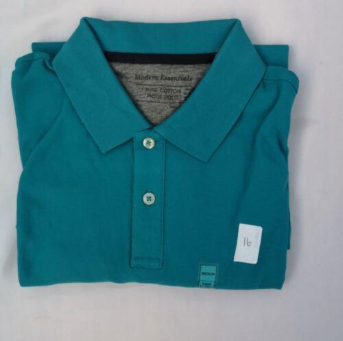 3XL RRP £15 Mens Cotton Polo Shirt NEW EX M/&S Pique Polo Regular Fit Size S