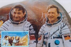 Original signiertes Foto DDR-Kosmonaut Sigmund Jähn †2019 II
