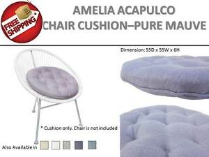 PURPLE-Round-Seat-Pad-Chair-Cushion-Mat-Home-Office-Dining-Indoor-Outdoor