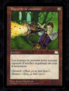 Null Rod MTG magic WTH MRM FRENCH Baguette de cassation